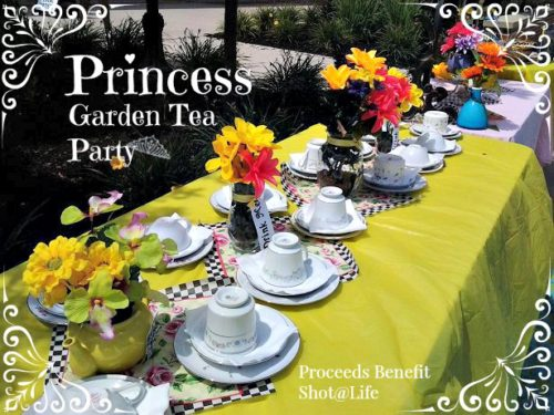 Garden Party, Princesses, and Vaccines #Blogust