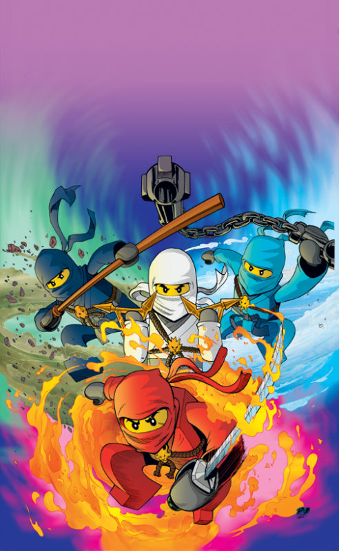 Ninjago. Because I secretly Want to be a Ninja.