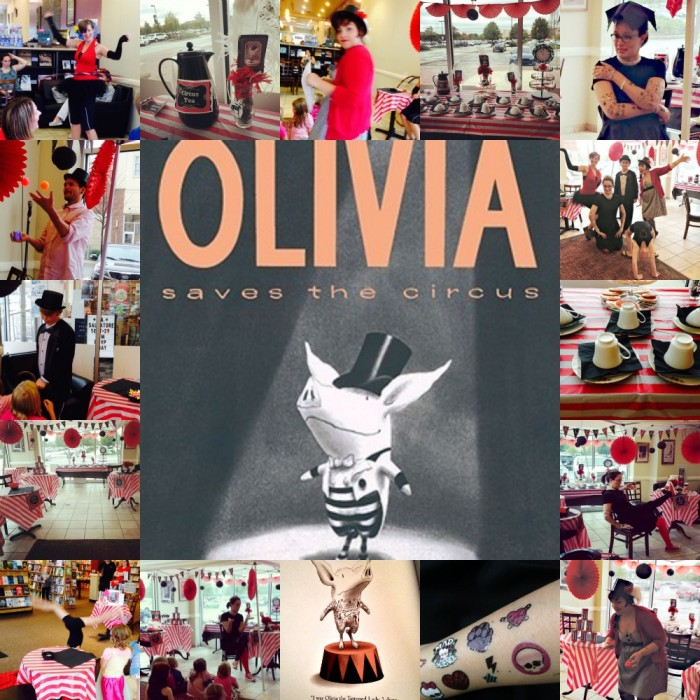 Olivia Saves the Circus SPECIAL TEA PARTY