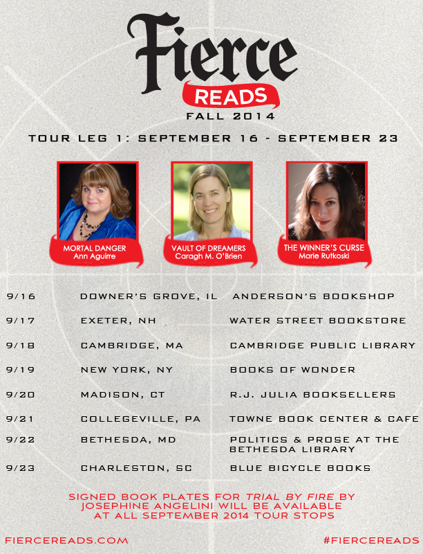 Fierce Reads Tour Leg 1