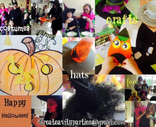 Book Themed Halloween Party!