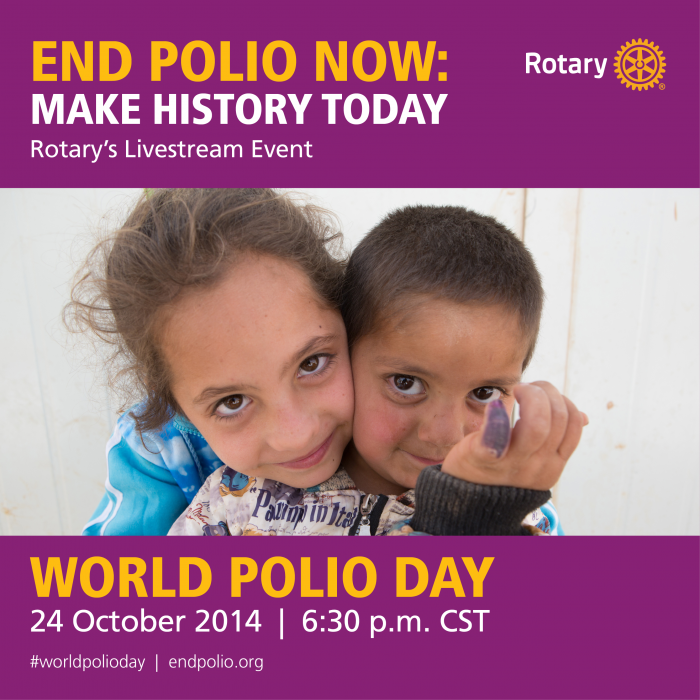 World Polio Day #endpolio