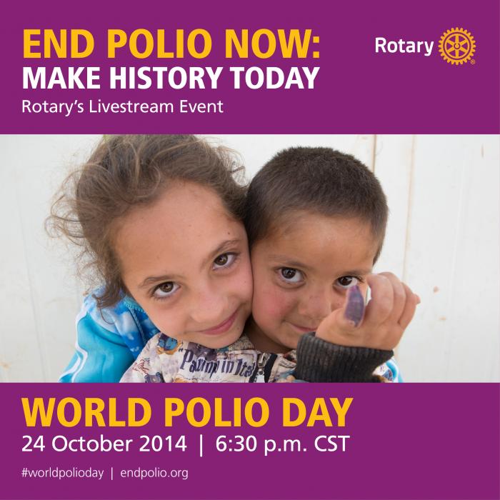 World Polio Day #endpolio