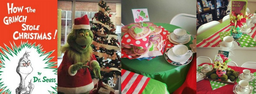 grinchpartycollage - How The Grinch Stole Christmas 2014