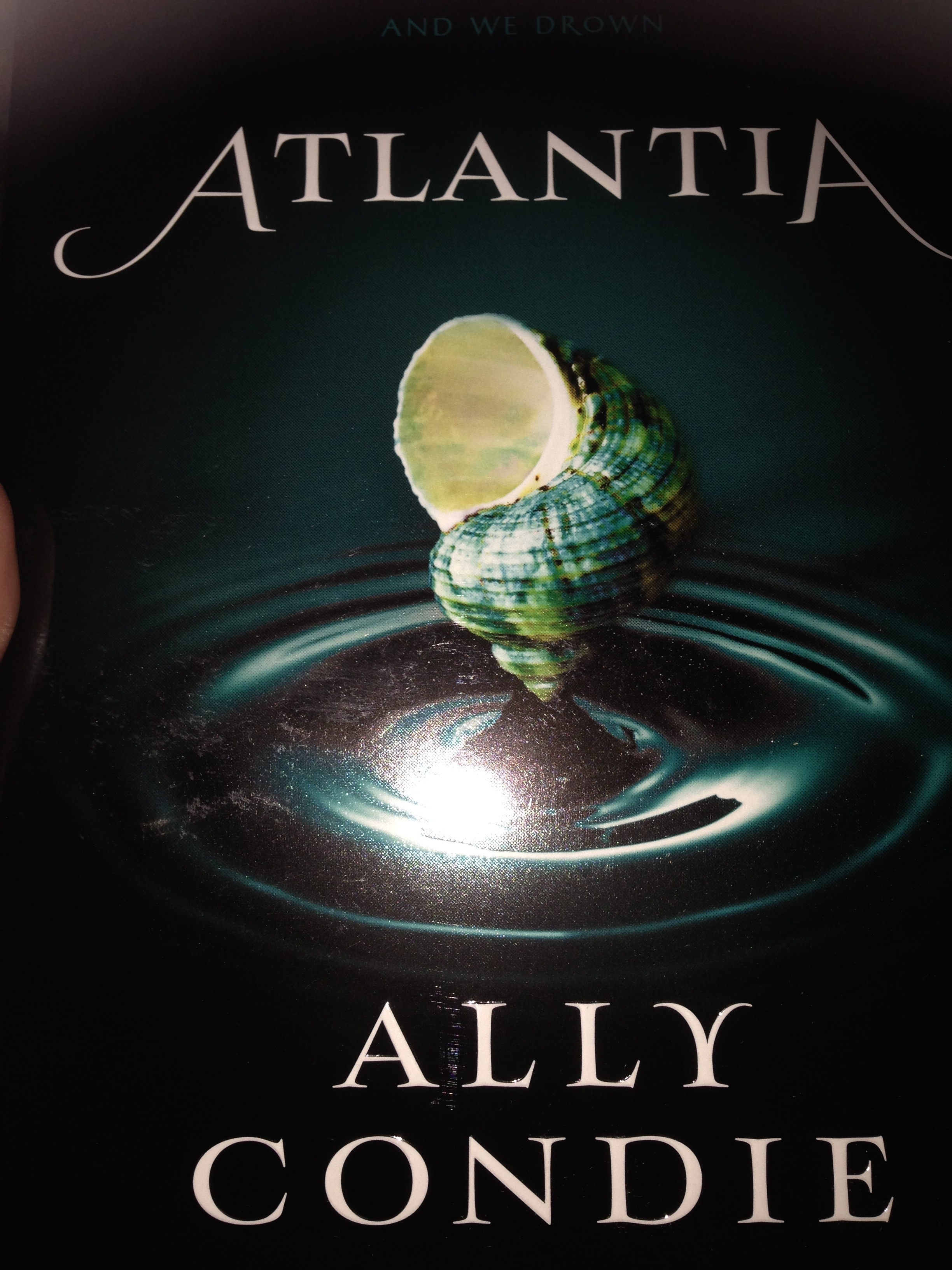 Atlantia by Ally Condie | An Unconventional Librarian