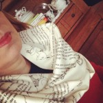 Have you seen my #scarfie during #scarvember from Uncommon Goods?
