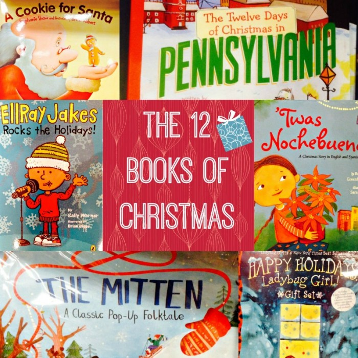 The 12 books of Christmas and Hanukkah