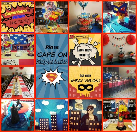 Superhero and Supervillans