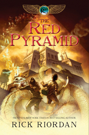 What's in My Ear: The Red Pyramid (Kane Chronicles #1) by Rick Riordan