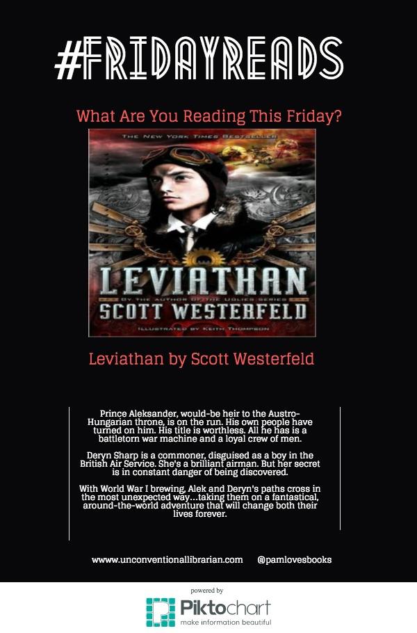 FridayReads Leviathan