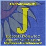 Blogging from #AtoZChallenge – J Just the Two of Us