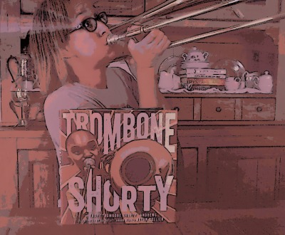 Giveaway: Trombone Shorty by Troy Andrews and Bryan Collier