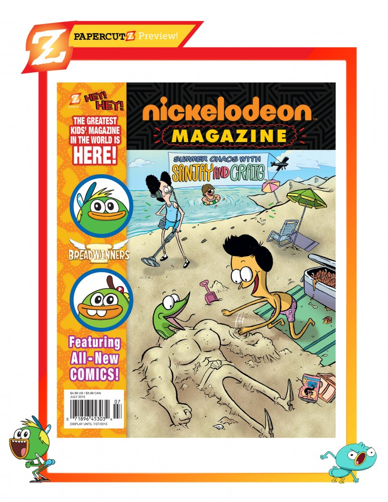Nickelodeon_Magazine Sanjay and Craig