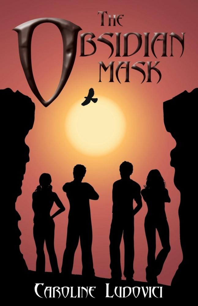 The Obsidian Mask by Caroline Ludovici