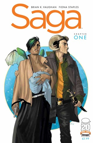 Saga, by Brian Vaughan and Fiona Staples