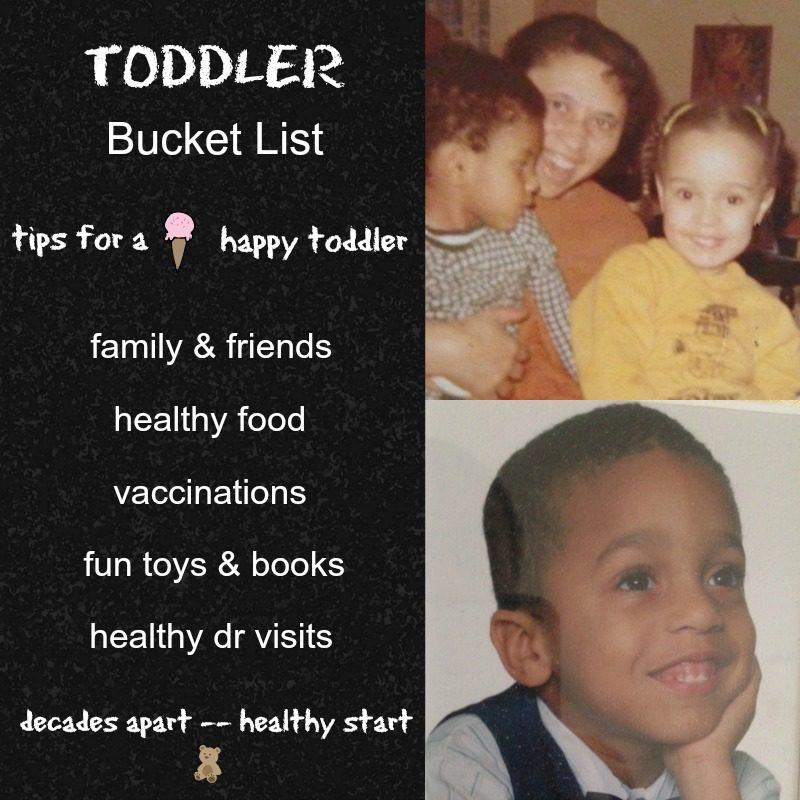 ToddlerBucket List
