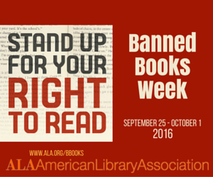 Banned Book Week: Why are Books Challenged?